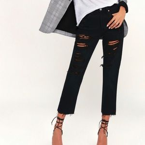 NWT Levi's 501 Original Cropped Jeans
